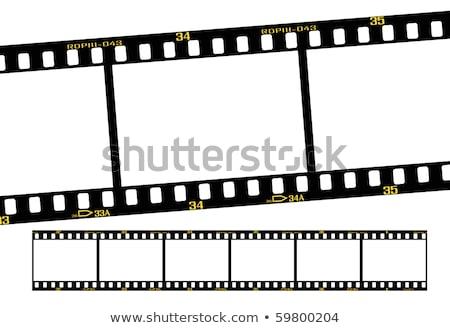 film strip 3+1 Stock photo © digitalmagus