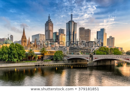 Melbourne, Australia Stock photo © leetorrens