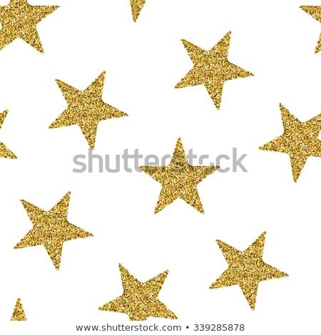 csillag · ezüst · fekete · háttér - stock fotó © kimmit