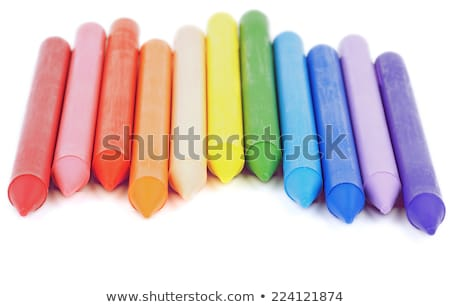 Polymeric Crayons Stock photo © zhekos