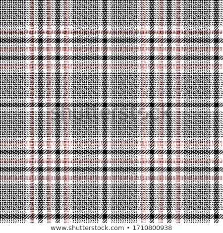 Fabric with a colorful checked pattern Stock photo © Zerbor