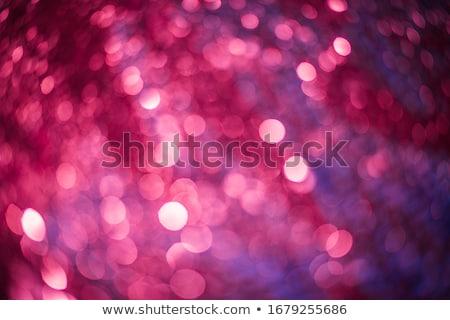 Rojo brillo decoración grande dorado estrellas Foto stock © dariazu