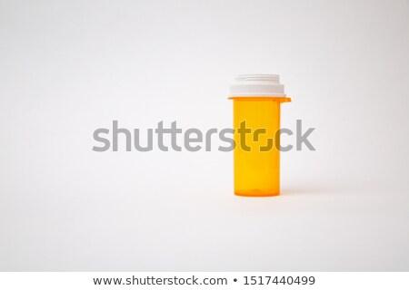 criança · pílula · mão · humana · medicina · saúde · bebê - foto stock © njnightsky