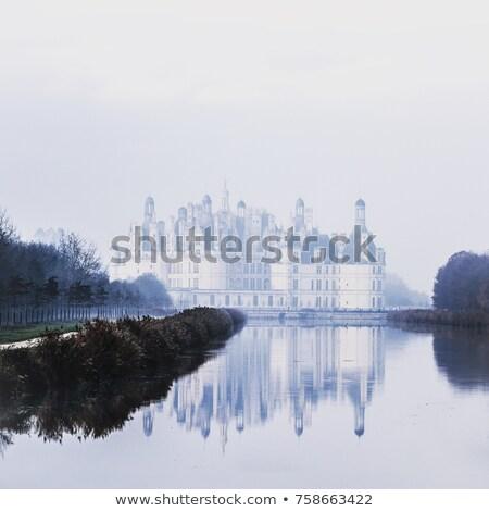 Loire Valley Mist Panorama Stock photo © smartin69