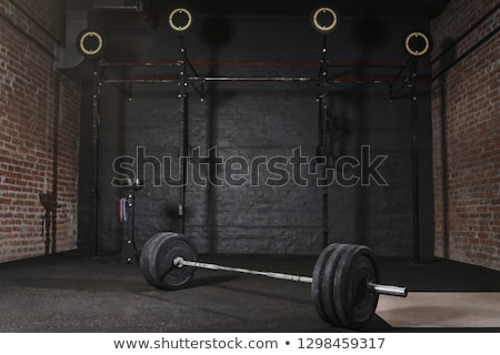 Crossfit gym Stock photo © deandrobot