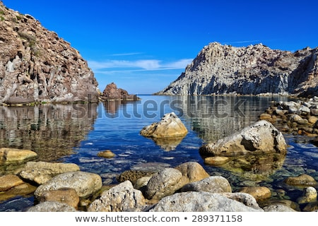 Calafico bay - Carloforte stock photo © Antonio-S