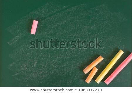 Powrót do szkoły plakat farbują przestrzeni zawartość szczegółowy Zdjęcia stock © orson