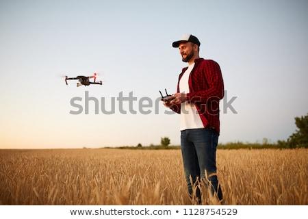 演算子 リモコン ヘリコプター 細部 プロ ストックフォト © vladacanon
