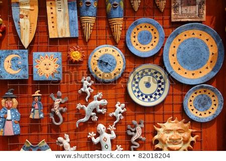 Santa Cruz Seros handcraft ceramics souvenir Stock photo © lunamarina