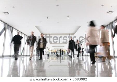 Déplacement escalator affaires route Voyage jambes Photo stock © Paha_L