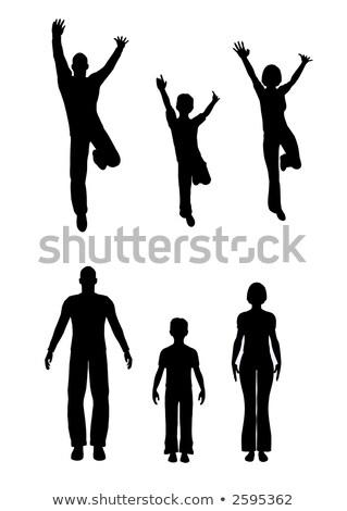 Vermek aile jpg versiyon çocuk dizayn Stok fotoğraf © Paha_L