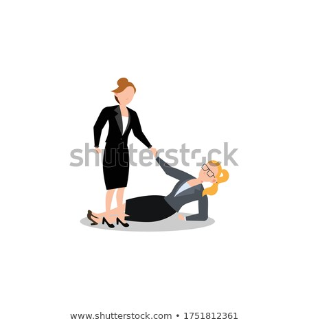 business woman falling Stock photo © Istanbul2009