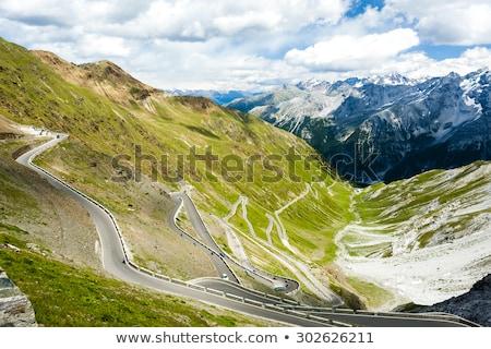 Italia strada natura montagna scenario silenzio Foto d'archivio © phbcz
