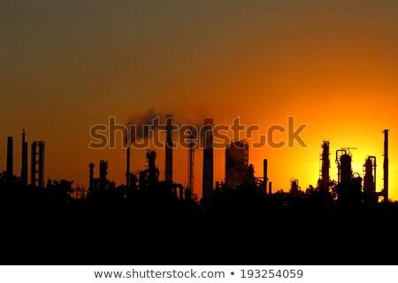 воздуха · загрязнения · завода · дым · закат · глобальный - Сток-фото © artush