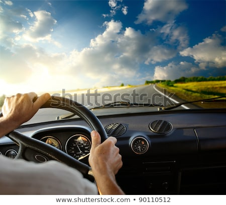 Driving Motion Controlled Car Stock photo © papa1266