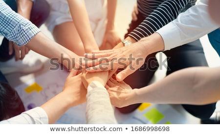 personnes · engins · travaux · ensemble · travail · d'équipe · succès - photo stock © lightsource