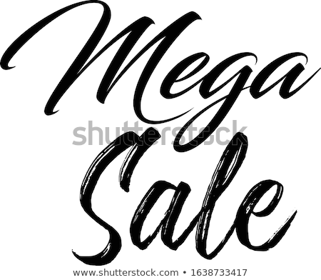 A sale artwork Stock photo © bluering
