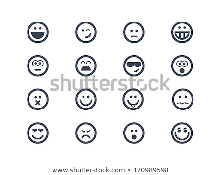 Smiley Face Wink Emoji Stock photo © Stephanie_Zieber