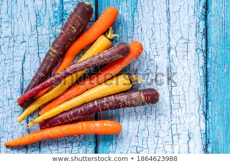 Colorful bunch of assorted varieties of carrots Stock photo © ozgur