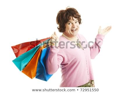 Cross Dresser - Shopping Spree Stock photo © lisafx