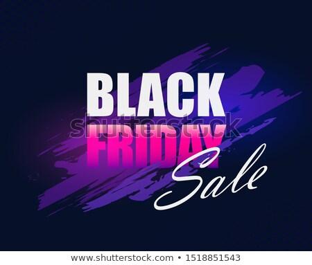 Divat vásár árengedmény promóciós brosúra szórólap Stock fotó © SArts