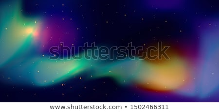 Violet aurora light. Abstract vector backgrounds Stock photo © fresh_5265954