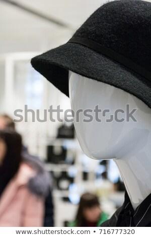 Showroom boutique mannequin, male figure portrait Stock photo © stevanovicigor