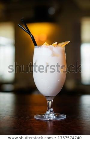 Sommer erfrischend Cocktails mint Ufer wenig Stock foto © tekso