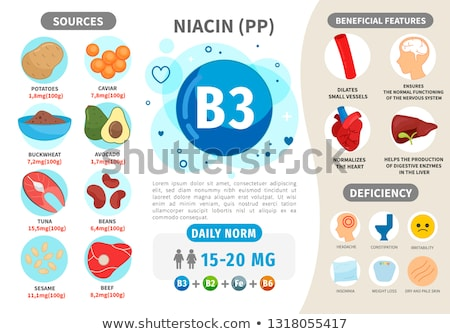 Niacin Vitamin B3 Pregnancy Health Stock photo © Lightsource