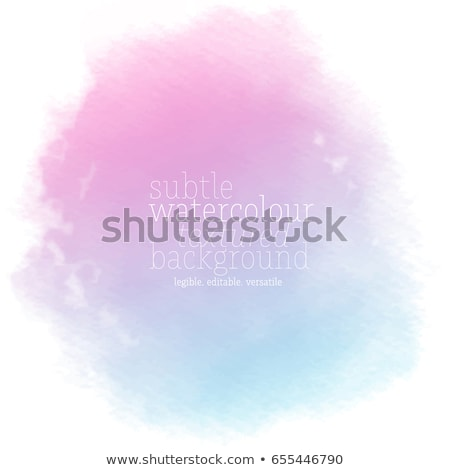 pink blue watercolor stain texture vector background Stock photo © SArts