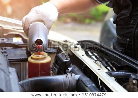 Potere fluido cap motore servizio Foto d'archivio © papa1266
