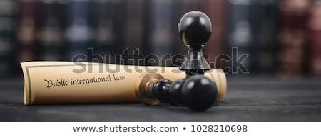 Apostille and Document Legalization Services Concept. 3D. Stock photo © tashatuvango