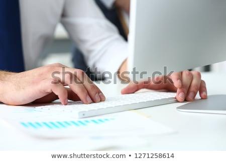 business · qualità · cliente · retroazione · tastiera · servizio - foto d'archivio © tashatuvango