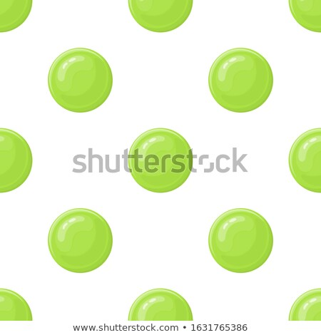 colorful sphere composition vector bright dotted abstract graphics isolated on white background stock photo © pikepicture
