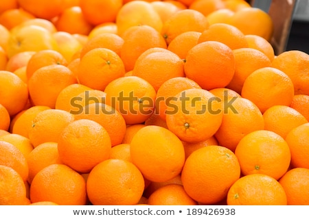 Oranges on fruit stall Stock photo © IS2