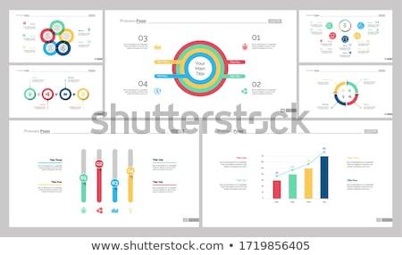 統計値 ウェブ 文字 サンプル インフォグラフィック ストックフォト © robuart