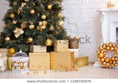 many toys under christmas tree stock photo © colematt