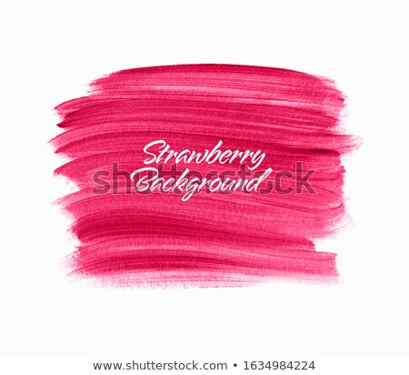 口紅 グラフィックデザイン テンプレート ベクトル 孤立した 実例 ストックフォト © haris99