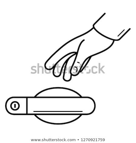 vetor · motor · resfriamento · isolado · branco - foto stock © dashadima