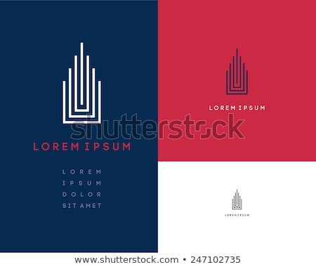 вектора · агент · по · продаже · недвижимости · дизайн · логотипа · недвижимости · икона · информации - Сток-фото © atabik2