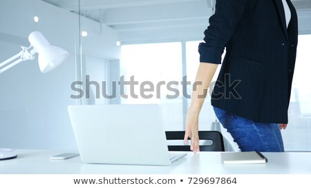 Young Businesswoman Leaving In Office Stock photo © AndreyPopov