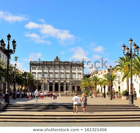 city hall of santa ana stock photo © benkrut