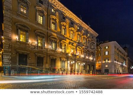 Paleis heuvel Rome Italië architectuur Stockfoto © Givaga
