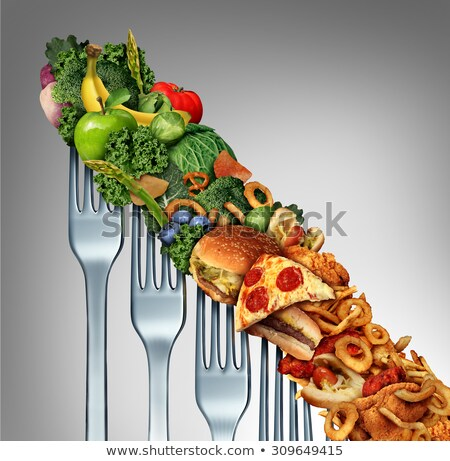 Decline In Nutrition Eating Habits Stock photo © Lightsource