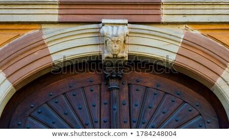 Церкви Германия башни протестантский город облаке Сток-фото © borisb17