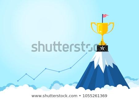 Successo società vincitori premio avvio vettore Foto d'archivio © robuart
