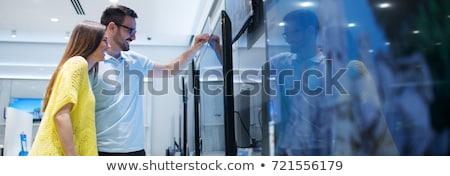 Elektronika készülékek áruház nagy vásár üzletek Stock fotó © robuart