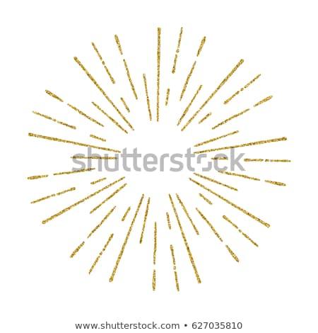 Vettore fotogrammi set oro Foto d'archivio © Pravokrugulnik