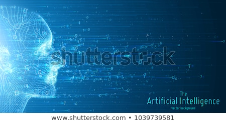 Machine Learning Artificial Intelligence Vector Stock photo © pikepicture