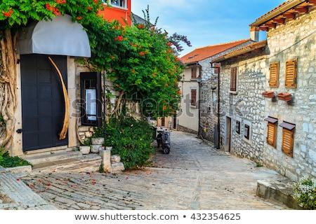 旧市街 · 海 · 海岸 · クロアチア · ヨーロッパ · 水 - ストックフォト © vladacanon